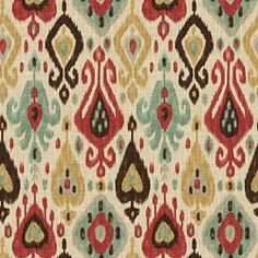 DJANGO PERSIAN - Red - Shop By Color - Fabric - Calico Corners
