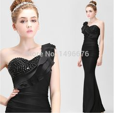 2016 Sexy New Women dress Black One Shoulder Sleeveless Mermaid Floor-Length Two styles Bridesmaid dresses Vestidos     Tag a friend who would love this!     FREE Shipping Worldwide     Get it here ---> http://onlineshopping.fashiongarments.biz/products/2016-sexy-new-women-dress-black-one-shoulder-sleeveless-mermaid-floor-length-two-styles-bridesmaid-dresses-vestidos/
