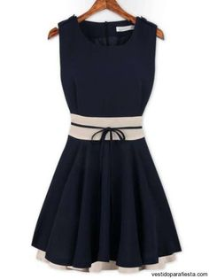 Vestidos cortos de moda juvenil 2014 – 03