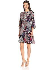 online shopping for Donna Morgan Women's Printed Dress from top store. See new offer for Donna Morgan Women's Printed Dress Womens Clothing Stores, Clothes For Women, Women's Clothing, 70s Fashion Pictures, Women's Fashion Dresses, Women's Dresses, Dress Collection, Autumn Fashion, Dresses For Work