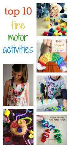 fine motor activities for kids 2