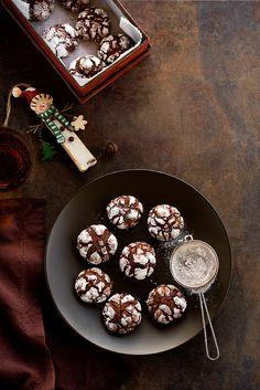 Biscotti al cioccolato, grappa e mandarino by marifra mentaeliquirizia, via Flickr