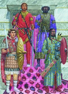 Byzantine Palace Ceremony, May 31, 946 AD.