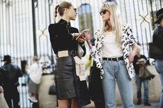 Moda de la calle en Semana de la Moda de París   Galería de fotos 10 de 30   GLAMOUR