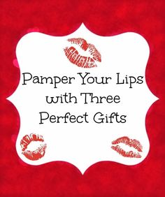 Pamper Your Lips with Three Perfect Gifts {Stocking Stuffer Ideas}  By Bare Feet on the Dashboard #beauty #giftideas