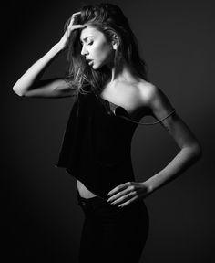 Courtesy of @neilvn  #nyc #model #newjersey #studio #photoshoot #blackandwhite #monochrome #pose #photooftheday #marusanici