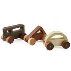 Soopsori natural wood shape cars