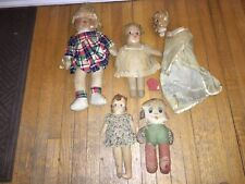 Antique vintage modern doll clothes, over 50 pieces - will end Feb. Antique Signs, Vintage Antiques, Baby Dolls, Doll Clothes, Plush, Hand Painted, Vintage Modern, Handmade, Ebay