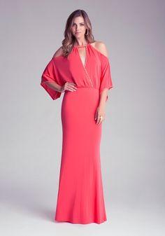 Cold Shoulder Dress from bebe on Catalog Spree