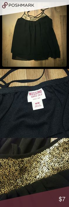 Mossimo Dressy Cami Excellent used condition. Only worn a few times. Mossimo Supply Co Tops Camisoles