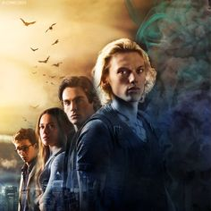 the four of them, only clary left, I think.