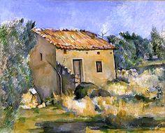 Abandoned House near Aix-en-Provence - Paul Cezanne