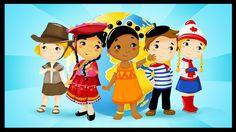 http://www.mondedespetits.fr/ Voici une petite chanson pour les enfants sur le thème des pays du monde. Paroles : Refrain : Faisons ensemble le tour de la Te...