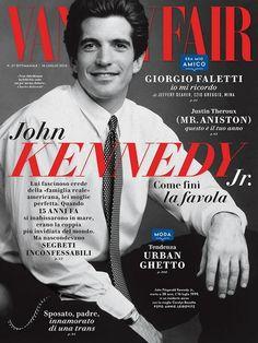 matt berman photos of JFK jr. | Remembering America's Prince: JFK Jr on the cover of the Italian ...