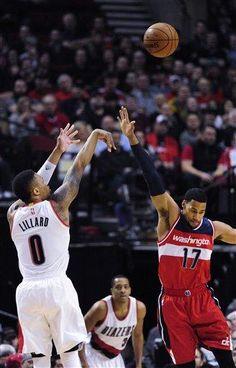 Damian Lillard anota 41 y guía triunfo de Blazers ante Wizards