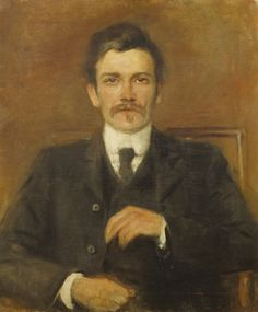 Synge, John Millington (1871–1909). — Miscellaneous writer, born near Dublin, ed. privately and at Trinity College, Dublin. He wrote Riders to the Sea, In the Shadow of the Glen (1905), The Well of the Saints (1905), The Play Boy of the Western World (1907), and The Aran Islands (1907).  (Image pinned from Ebooks@Adelaide)