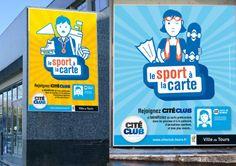 """CitéClub, ou le """"sport à la carte"""""""