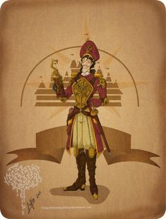 captain hook. Worth the click thru. It leads to more steam-punk disney villains.