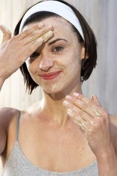 DIY Microdermabrasion with baking soda  water!   Oh my stars!  I tried this and even though I only made it about a minute (rather than the 5 called for) it is amazing!  My skin feels wonderfully smooth and clean.  This may be the best thing Ive found on Pinterest so far.