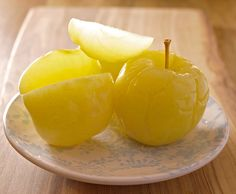 Russian Brined Apples.  http://www.beetsandbones.com/russian-brined-apples/