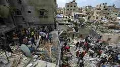 """Israel's """"humanitarian window"""" for parts of Gaza has ended, having slowed violence over its seven-hour period.  Israel had said the truce would not apply to Rafah in the south and its troops would respond if attacked.  Palestinian officials said Israel broke the truce shortly after it began, hitting a house in Gaza City.  In Jerusalem, Israeli police said a Palestinian construction vehicle driver was shot dead after an attack on a bus that killed an Israeli passer-by.  (By this they mean…"""
