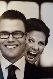 Wasn't sure what board to put this on, but it's a great picture! Crown Princess Victoria of Sweden and her husband Daniel :)