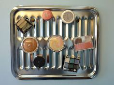Magnetic Makeup Holder - DIY - YES, YES, YES. I just so happen to have an extra :)