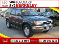 1998 Toyota 4runner Sr5 Limited 185k Miles Call For Price 185632 510 244 3180 Transmission Automatic Used Cars Toyotaofberkeley