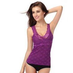 Women Sexy Lace Floral T-shirt Tank Tops Sleeveless Stretch Crochet Vest Blouse
