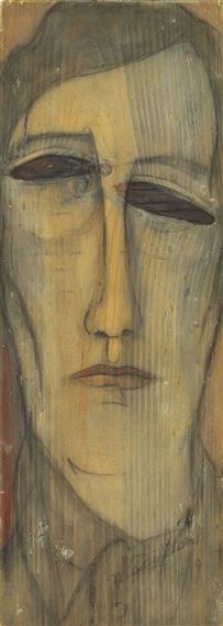 View Autoportrait By Amedeo Modigliani; Oil on board; Access more artwork lots and estimated & realized auction prices on MutualArt. Amedeo Modigliani, Modigliani Paintings, Karl Schmidt Rottluff, Henri De Toulouse Lautrec, Edvard Munch, Paul Cezanne, Renoir, Portrait Art, Figurative Art