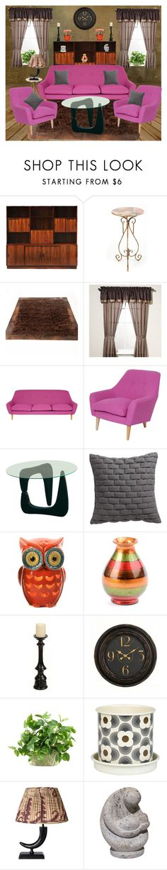 """""""please be seated"""" by sheena-malabar ❤ liked on Polyvore featuring interior, interiors, interior design, home, home decor, interior decorating, Manor Hill, CB2, WALL and Orla Kiely"""
