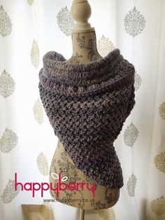 Happy Berry Crochet: How To Crochet our Solomon Cowl - FREE pattern ins...
