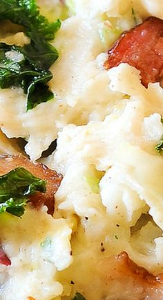 Colcannon - Irish Mashed Potatoes
