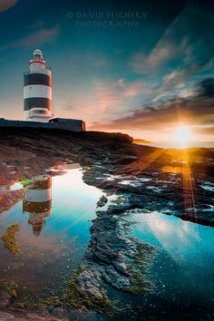 Sunrise at Hook Head, Ireland