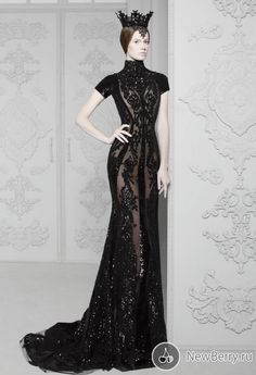 The Look: Michael Cinco Haute Couture 2014 #raven queen