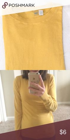 Mustard Yellow Sweater SZ M - Runs Small IMO (would best fit a size small or x-small). Brand is BP. (Originally purchased at a pop-up boutique). GUC. bp Sweaters Crew & Scoop Necks