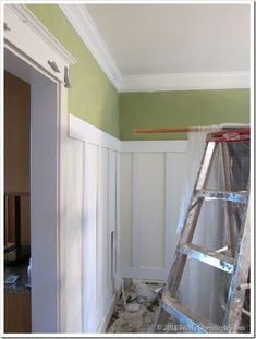 great crown molding idea