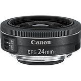 Canon EF-S2428STM Obiettivo Pancake 24mm F/2,8 STM, Nero/Antracite