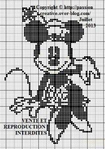 Mrs. Mouse, found on : http://sd-4.archive-host.com/membres/up/185886628616714501/Grille_point_de_croix_Minnie_monochrome.pdf