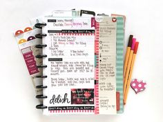 Recipe Planning - mambi by @maldonadomas #planning #planner