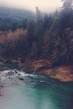 cold lake hippie hipster vintage landscape trees boho indie Grunge mountains nature forest natural retro waves river rocks Gipsy grounge