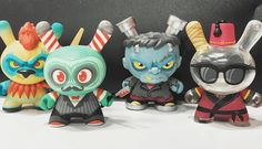 The Odd Ones Revealed at SDCC - New Dunny Series by Scott Tolleson x Kidrobot