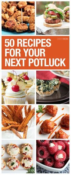 If you're headed to a potluck, try one of these healthy dishes!