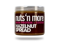 Hazelnut High Protein Spread http://eatdojo.com/high-protein-foods-weight-loss/