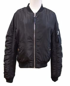 Outdoor Safety Winter Bomber Jacket