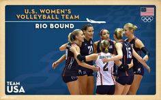 U.S. Women's Volleyball Team Qualifies For Rio Olympics