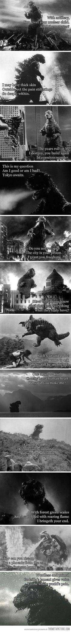 Godzilla Haiku…