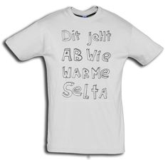 """T-Shirt men """"Selta"""" von MAD IN BERLIN auf DaWanda.com"""