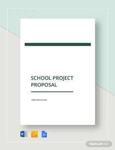 Simple Project Proposal Template - Word (DOC) | Google Docs | Apple (MAC) Apple (MAC) Pages | PDF | Template.net Project Proposal Example, Project Proposal Template, Proposal Templates, Writing A Business Proposal, Business Proposal Sample, Software Projects, Research Projects, Microsoft Project, Microsoft Word