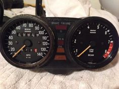 BMW Airhead Gauge Cluster Speedometer & Tachometer (No Reserve) Mechanical